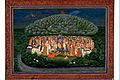 Krishna Lifting Mount Govardhan - Google Art Project.jpg