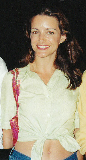 Kristin Davis - Davis at the HBO party after the 1999 Emmy Awards.