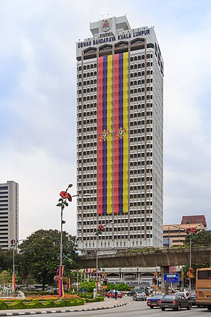 Kuala Lumpur City Hall - Image: Kuala Lumpur Malaysia Dewan Bandaraya Kuala Lumpur 01