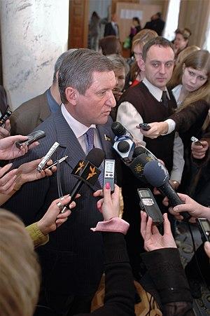 Presidential Administration of Ukraine - Image: Kushnarev v rade