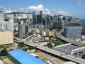 Kwun Tong District - The industrial area of Kwun Tong