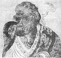 L'arhat Pindola par le peintre Guanxiu.jpg