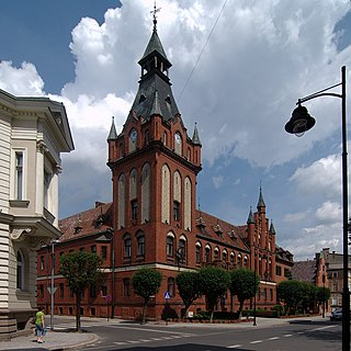 Lębork Place in Pomeranian Voivodeship, Poland