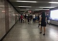 L4-L1 Interchange passage of Xidan Station (20170808131140).jpg