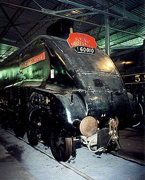 Canadian Railway Museum - Image: LNER Class A4 4489 Dominion of Canada at CRM