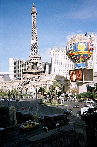 Paris Las Vegas - Image: LV Paris Hotel Casino