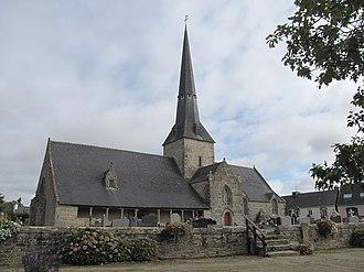 Calan, Morbihan - The church of the Trinity, in Calan