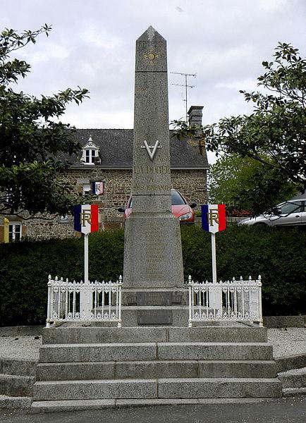 Monument aux morts de La Dorée (53).
