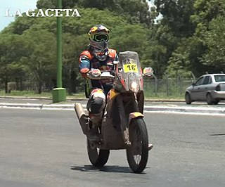 Matthias Walkner Austrian motorcycle racer