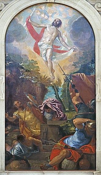 Christology - Paolo Veronese, The Resurrection of Jesus Christ (ca. 1560).