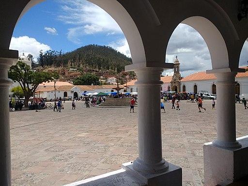 La Recoleta - plaza