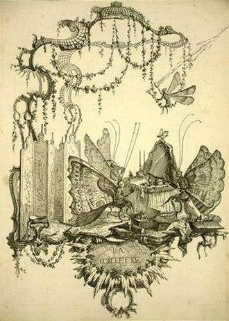Charles Germain de Saint Aubin - Engraving by Charles Germain de Saint Aubin
