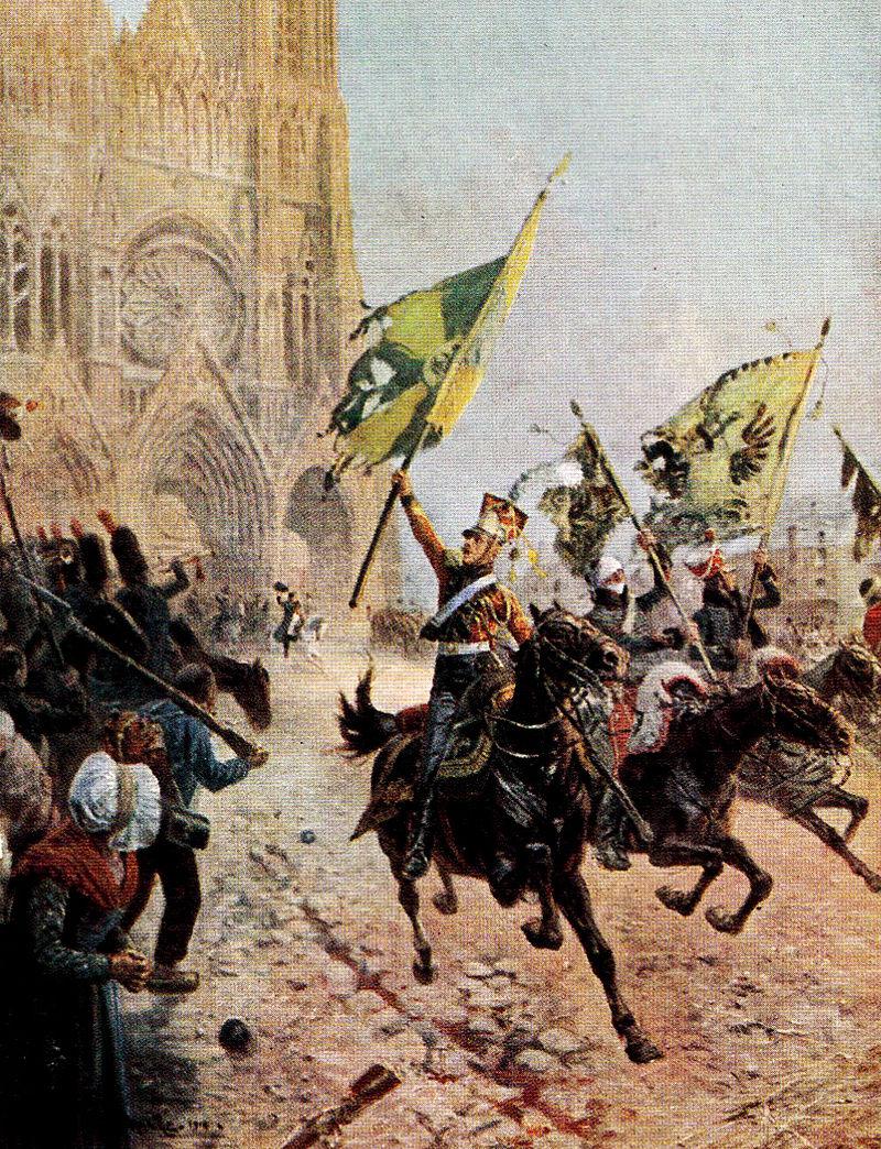 La dernière victoire, Реймс, 1814.jpg