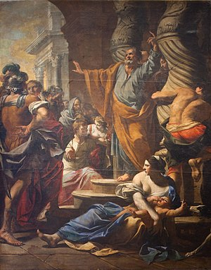 The Preaching of Saint Peter in Jerusalem