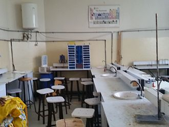 Education in Ethiopia - Laboratory for High School Science, Addis Ababa