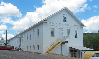 La Plume Township, Lackawanna County, Pennsylvania - Lackawanna Dairy building