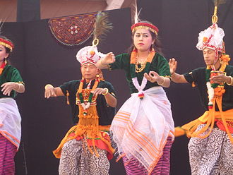 Lai Haraoba - Dancers at the festival
