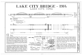 Lake City Bridge, Spanning North Raccoon River, Lake City, Calhoun County, IA HAER IOWA,13-LACIT.V,1- (sheet 1 of 2).png