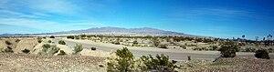 Lake Havasu City, Arizona - Lake Havasu City from the west