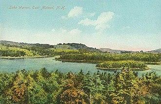 Alstead, New Hampshire - Image: Lake Warren, East Alstead, NH