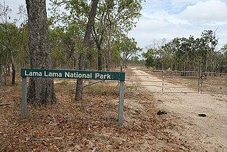 Lama Lama National Park - Image: Lama lama national park