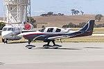 Lancair Super ES (VH-HLP) taxiing at Wagga Wagga Airport (1).jpg
