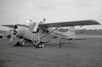 Edgar Percival E.P.9 - The sole new build Prospector Mark 2 fitted with a Cheetah radial engine. Exhibited at the 1960 Farnborough Airshow