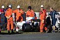 Lance Stroll crash 2017 Catalonia test (27 Feb-2 Mar) Day 3.jpg