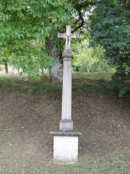 Laneuville-au-Rupt (Meurthe-et-M.) croix de chemin ouest