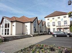 Langatte (Moselle) mairie.jpg