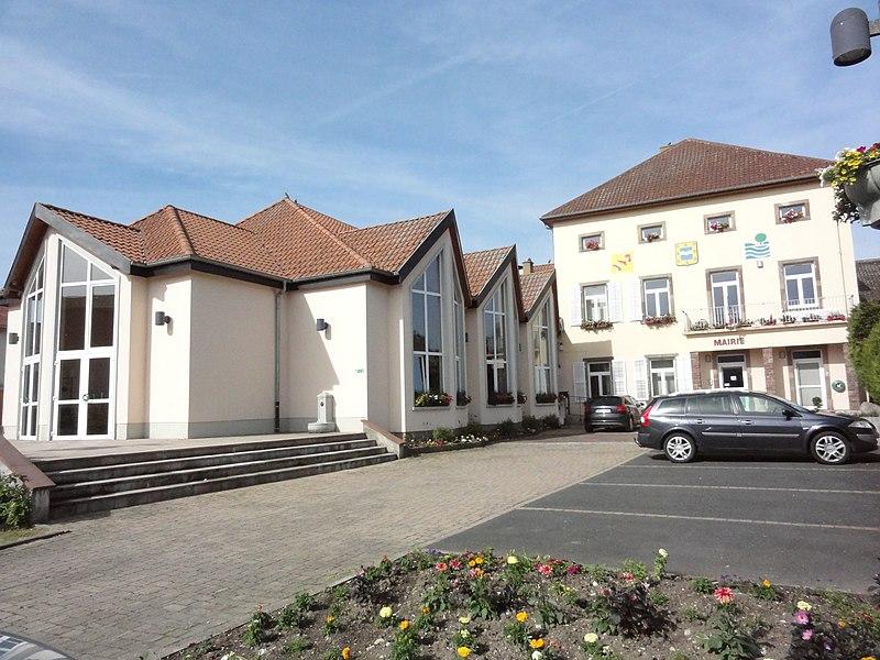 Langatte (Moselle) mairie