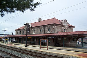 Lansdale, Pennsylvania - The Lansdale station on SEPTA's Lansdale/Doylestown Line