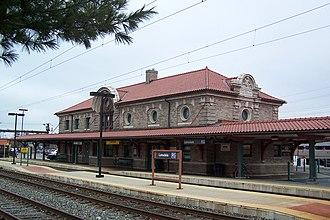 Lansdale, Pennsylvania - The Lansdale station on SEPTA's Lansdale/Doylestown Line