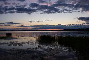 Lapinjärvi (lake) - Image: Lapinjärvi