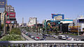 Las Vegas Strip south, Tropicana ave.jpg