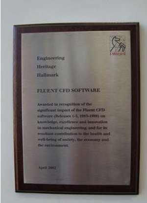 Engineering Heritage Awards - Image: Late EHHA Plaque design