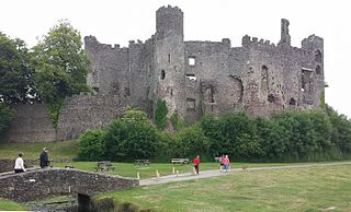 Laugharne Castle Grade I listed building in Laugharne. Castle in the town of Laugharne in southern Carmarthenshire, Wales