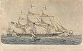 Le Clipper Americain Electric de New York a Havre, arrivant - Sandy-Hook 1854 RMG PY8546.jpg