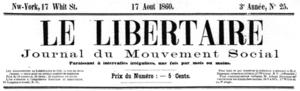 Le Libertaire - Image: Le Libertaire (1858 1861)