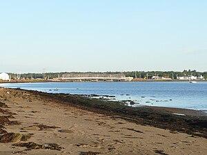 Cocagne, New Brunswick - Image: Le pont de cocagne