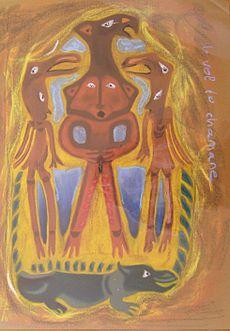 La spiritualité est une expérience naturelle dans SPIRITUALITE c'est quoi ? 230px-Le_vol_du_chamane