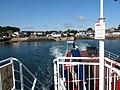 Leaving Strangford on the MV Portaferry II (geograph 5483444).jpg