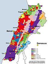 Regionale Verteilung der religiösen Gruppierungen