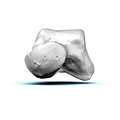 Left Talus bone 09 anterior view.png
