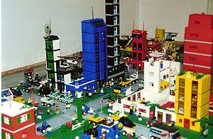 A Lego City