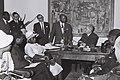 Leon M'ba meeting with Ish Shalom. D789-084.jpg