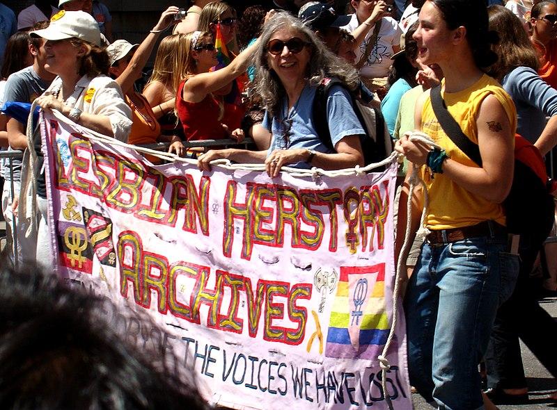 File:Lesbian Herstory Archives Gay Pride 2007.jpg