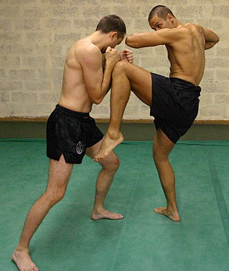 Lethwei - Image: Lethwei Knee Elbow