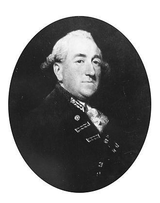 John Leveson-Gower (Royal Navy officer) - Admiral John Leveson-Gower (1740-1792)