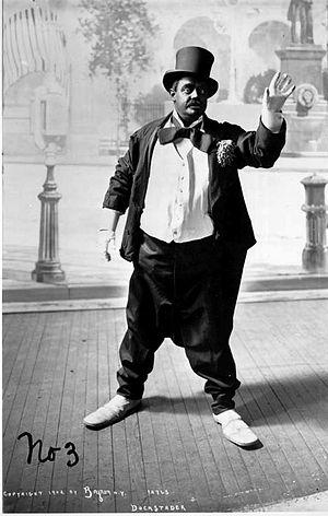 Lew Dockstader - Image: Lew Dockstader 1902Top Hat Blackface